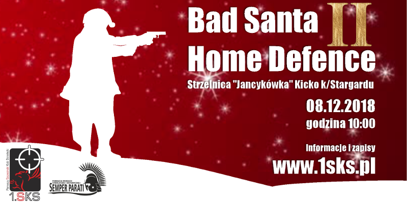 Read more about the article 2019-12-08 – Bad Santa & Home Defence II