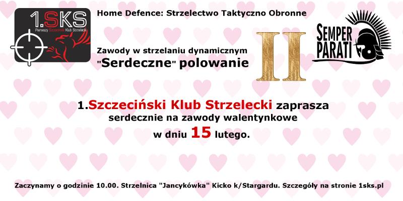 """2020-02-15 – Zawody w strzelaniu dynamicznym """"Serdeczne"""" polowanie II"""